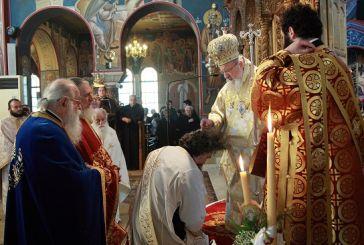 Δύο Χειροτονίες Κληρικών από τον Μητροπολίτη Αιτωλίας και Ακαρνανίας Κοσμά