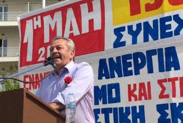 Επίθεση στη δημοτική αρχή από τον πρόεδρο του Εργατικού Κέντρου