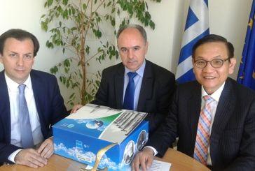 Συνάντηση του Γ. Αγγελόπουλου με τον Πρέσβη της Δημοκρατίας της Κορέας