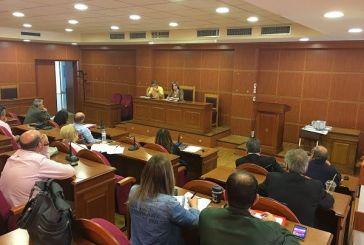 Σύσκεψη για τα έργα στους πέντε πληγέντες δήμους από τις περσινές καταστροφές