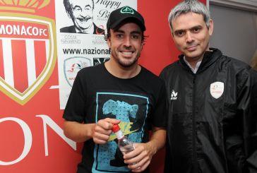 Ο Καραγκούνης παίζει μπάλα στο Μονακό με Αλβέρτο και πιλότους της Formula 1!