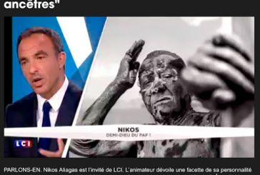 """Ο Νίκος Αλιάγας """"διαφημίζει"""" στη Γαλλική TV τα ιαματικά λασπόλουτρα του Μεσολογγίου"""
