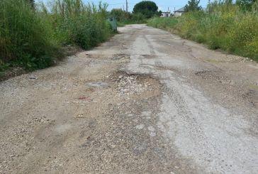 Αγανακτισμένοι οι κάτοικοι του Αγ. Δημητρίου Μεσολογγίου για το άθλιο οδικό δίκτυο της συνοικίας