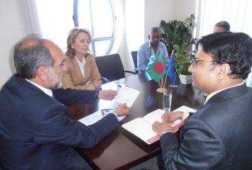 Συνεργασία της Περιφέρειας με την Πρεσβεία του Μπαγκλαντές