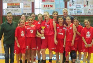 ΕΣΚΑΒΔΕ: στα κορίτσια του Πηγάσου το Πρωτάθλημα Παγκορασίδων