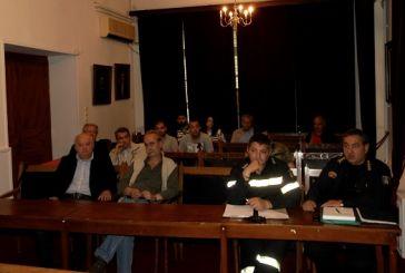 Σύσκεψη για την αντιπυρική προστασία στον Δήμο Ι.Π.Μεσολογγίου