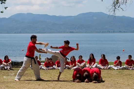 Άθληση δίπλα στη λίμνη Τριχωνίδα από το EuroGym και τον Α.Σ. Τίτορμος Αιτωλοακαρνανίας