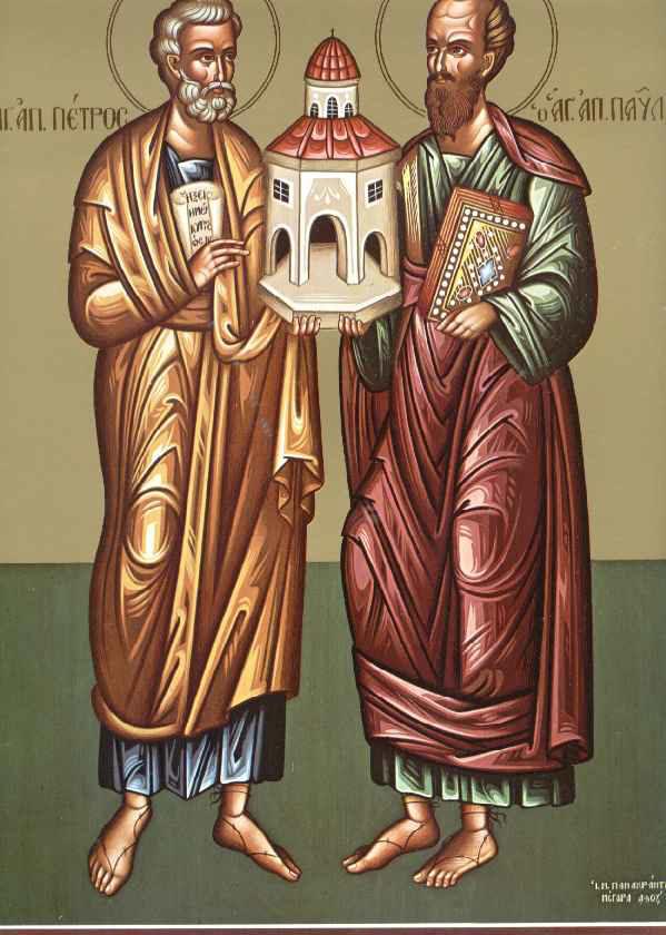 Εσπερινός στον Ιερό Ναό  Αγίων Αποστόλων στα Διαμαντέικα Αγρινίου