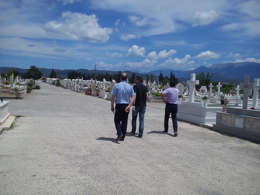 Κλοπή ξανά στο νεκροταφείο Αγρινίου