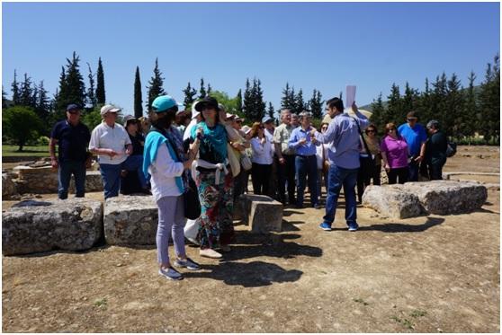 Στη Μονεμβασιά ταξίδεψαν τα μέλη της Ιστορικής- Αρχαιολογικής εταιρείας