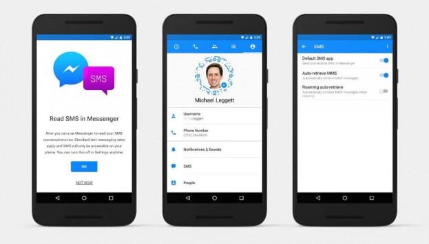 Το Facebook Messenger υποστηρίζει πλέον αποστολή και λήψη SMS!