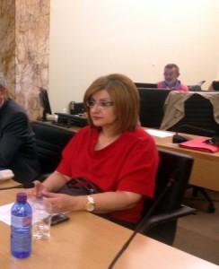 Η νέα αντιδήμαρχος Όλγα Πιστιώλη- Σαλακίδου.