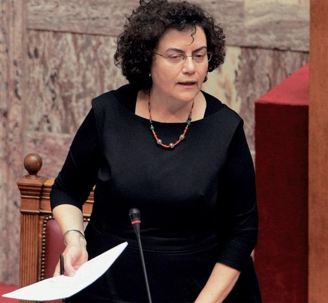 H Νάντια Βαλαβάνη στο Αγρίνιο για την πολιτική πρόταση της ΛΑ.Ε.