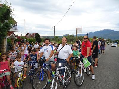 Με μεγάλη συμμετοχή η 5η Ποδηλατοδρομία στο Παναιτώλιο
