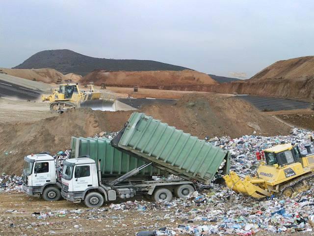Μεταφορά ξανά σκουπιδιών της Ηλείας στον ΧΥΤΑ Παλαίρου