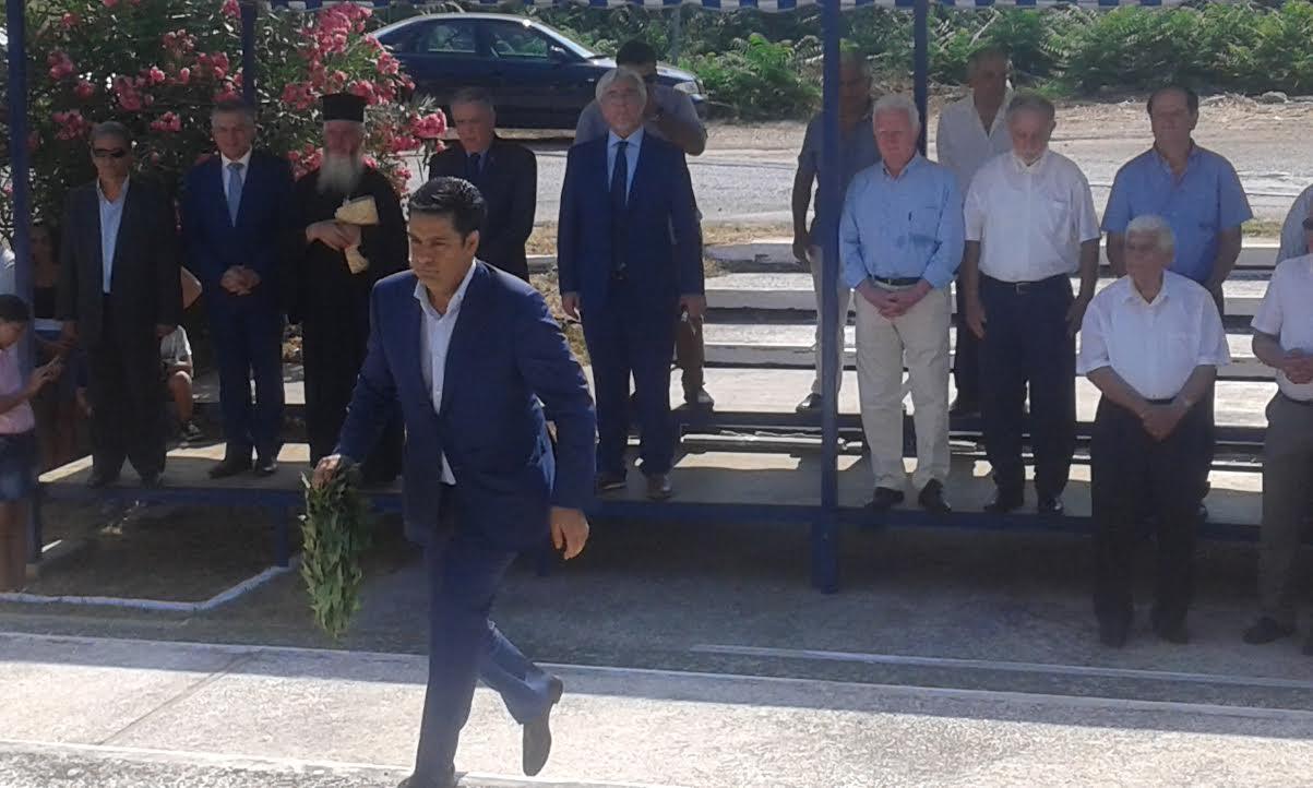 Ο Δήμος Αγρινίου τίμησε τους εκτελεσθέντες πατριώτες στα Καλύβια