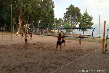 Κορυφώνεται το 11ο Τουρνουά Beach Volley στη Ναύπακτο