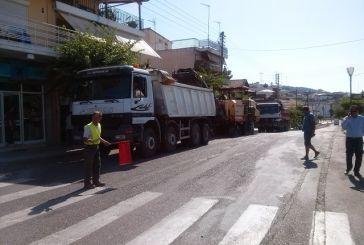 Ξεκίνησαν οι ασφαλτοστρώσεις σε δρόμους του Αγρινίου