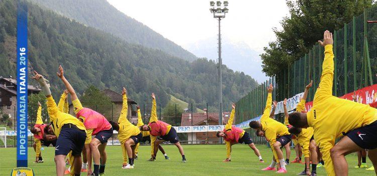Σήμερα με Hellas Verona την Τρίτη σε Τουρνουά