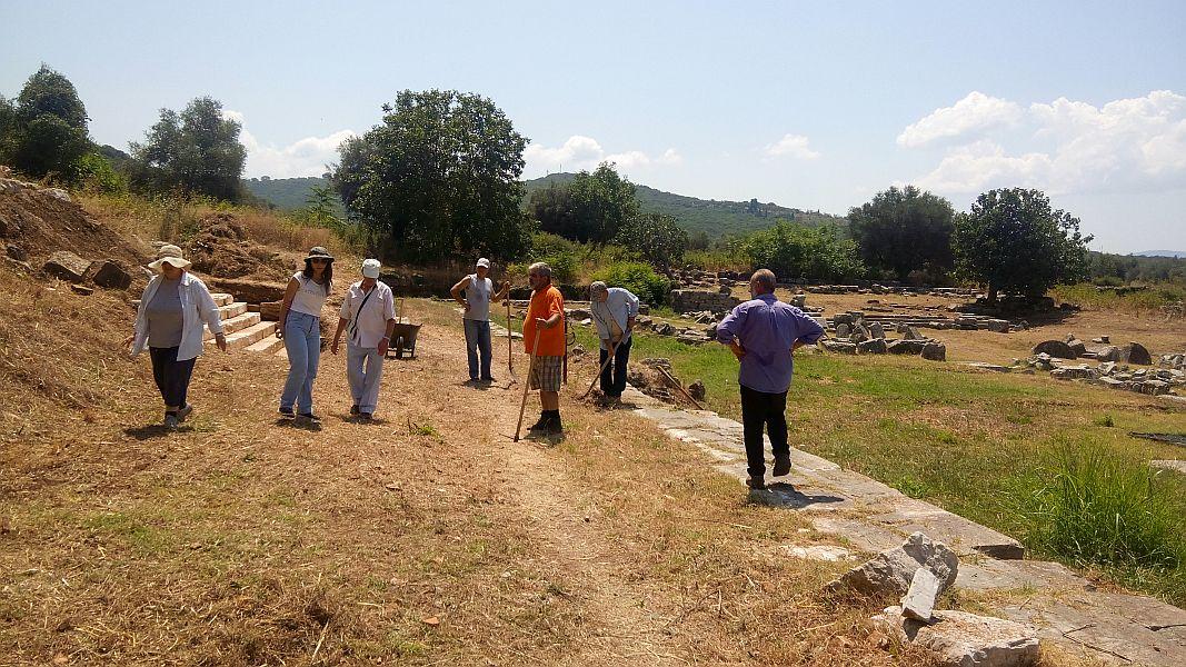 Aνασκαφής ξεκίνημα ξανά στον αρχαιολογικό χώρο Θέρμου