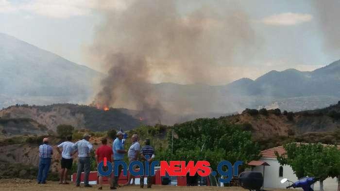 Καλά πλέον τα νέα για την πυρκαγιά στον Άγιο Γεώργιο Μεσολογγίου