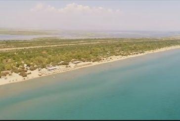 Όμορφα πλάνα από την παραλία του Λούρου