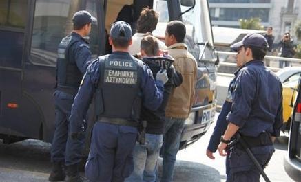 Συλλήψεις Αλβανών για παράνομη είσοδο και παραμονή στη χώρα