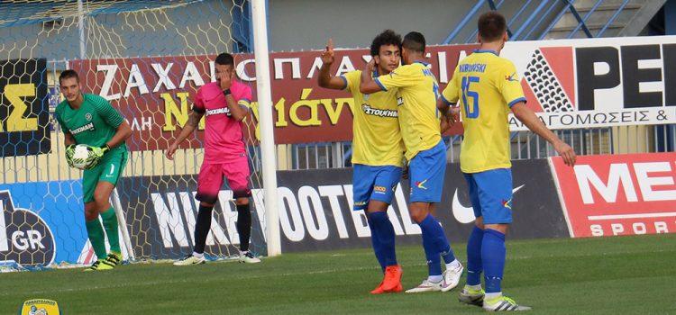 Δείτε τα γκολ του  φιλικού αγώνα Αστέρας Τρίπολης-Παναιτωλικός 2-2