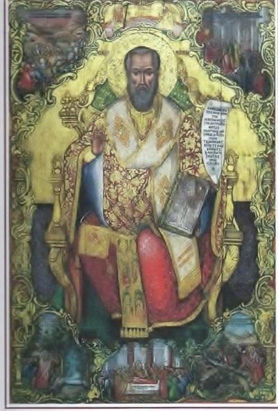 Ιερές ακολουθίες στη μνήμη του Αγίου Μύρωνος στον Ι.Ν. Αγίου Νικολάου του εν  Βουνένοις στη Βόνιτσα