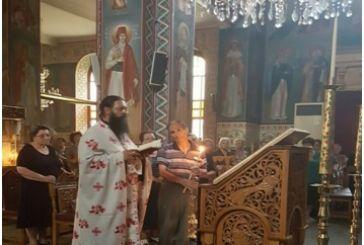 Λαμπρός εορτασμός του Οσίου Ευγενίου του Αιτωλού στο Αιτωλικό