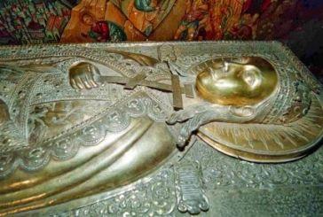 H Bόνιτσα υποδέχθηκε το Ιερό Λείψανο της Αγίας Αικατερίνης από το όρος Σινά
