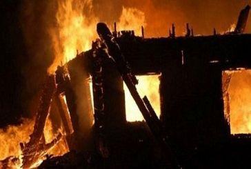 Κατοικία παραδόθηκε στις φλόγες στην Πλαγιά