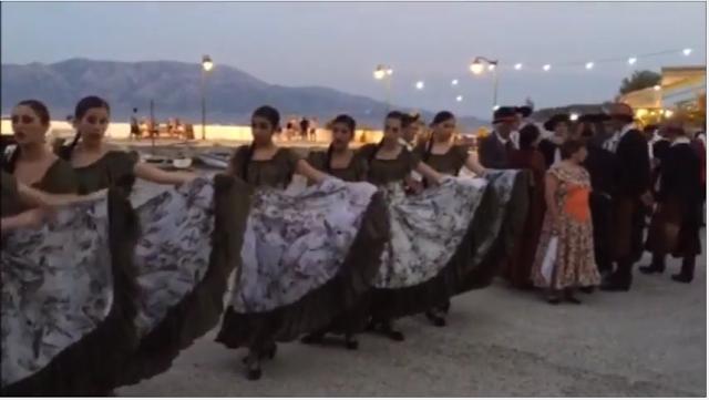 Γοήτευσε στον Κάλαμο το Διεθνές Φεστιβάλ Φολκλόρ Λευκάδας  (video)