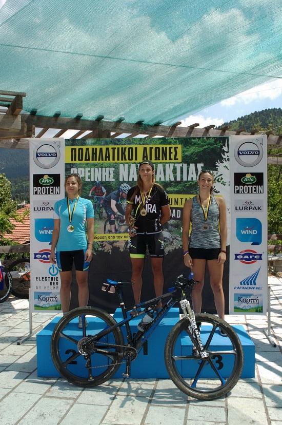 Ορεινή Ναυπακτία: Οι νικητές της ορεινής ποδηλασίας στα 26 και 40 χλμ