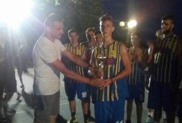 Νικητής στο τουρνουά μπάσκετ στη Χρυσοβίτσα ο Αίολος Αστακού (φωτο)