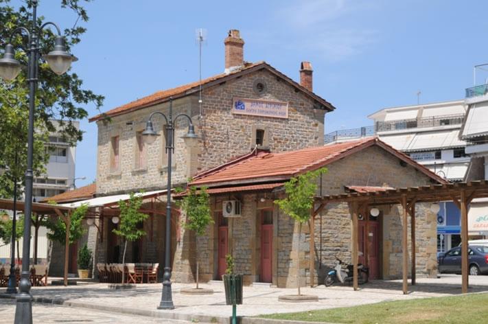 Ο πρώην Σταθμός των τρένων Αγρινίου όπως είναι σήμερα
