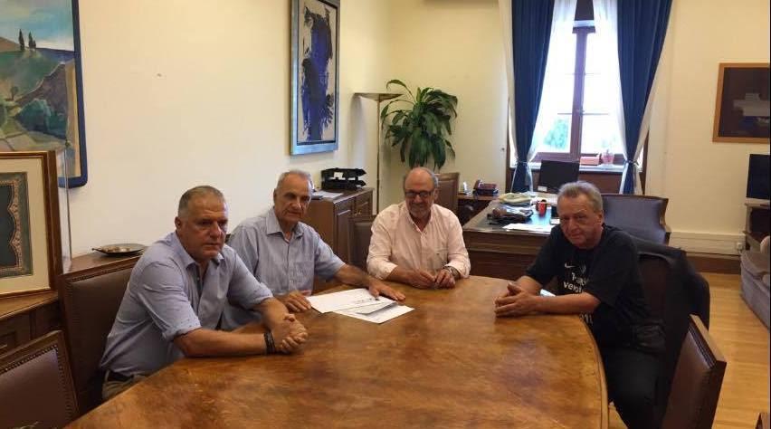 """Συνάντηση με Βαρεμένο για τη """"Nostos"""" Expo 2016"""