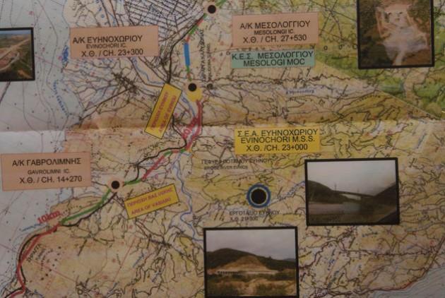 Ιόνια Οδός:  Τα πρώτα 105 χλμ. στην κυκλοφορία ως το τέλος του χρόνου