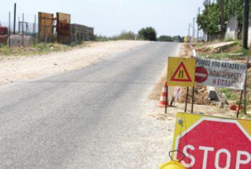 Kυκλοφοριακές ρυθμίσεις κοντά στο Λουτρό για εργασίες στην Ιόνια οδό