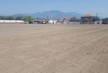 Έργα σε γήπεδα του δήμου Αγρινίου