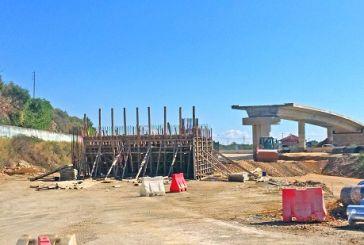 Εντατικά τα έργα για την αερογέφυρα στον κόμβο Κεφαλόβρυσου (φωτό)