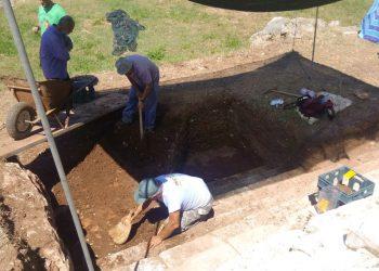 Η πορεία της ανασκαφής στον αρχαιολογικό χώρο Θέρμου