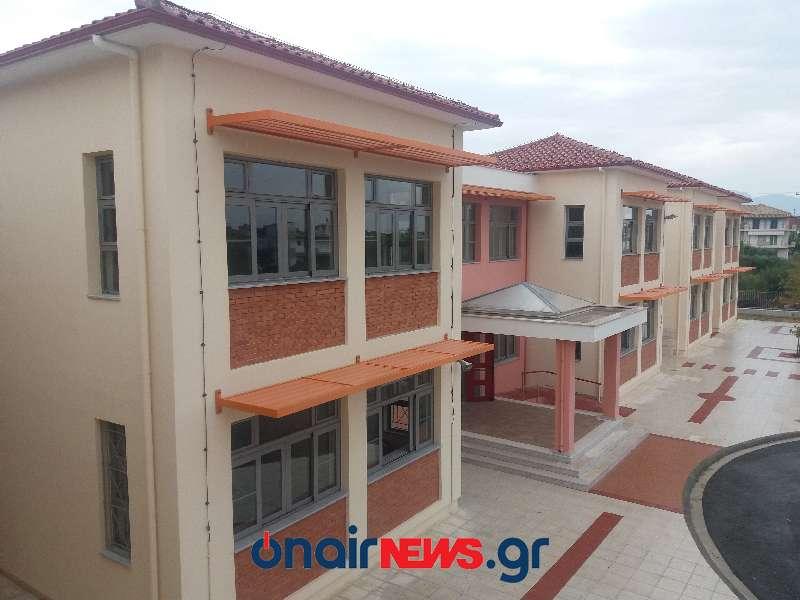 Το νέο κτίριο του 2ου Γυμνασίου Μεσολογγίου (φωτο)