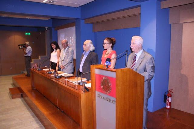 Εκδήλωση μνήμης για τον Γ. Αναγνωστόπουλο, εκπλιπόντα πρόεδρο της Ένωσης Αιτωλοακαρνάνων Λογοτεχνών