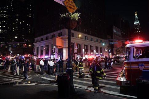 Έκρηξη στη Νέα Υόρκη με 29 τραυματίες, «σκόπιμη ενέργεια»