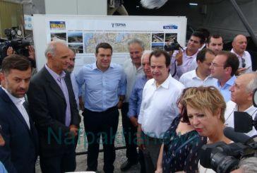 O πρωθυπουργός στην Κλόκοβα- 80% η πρόοδος στην Ιόνια Οδό