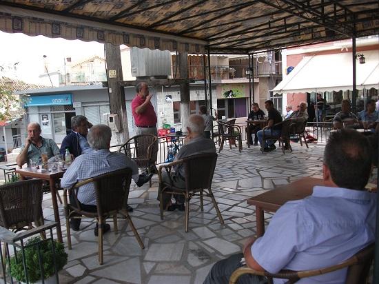 Ομιλία Μωραΐτη στο Μοναστηράκι με αιχμή τα εργασιακά