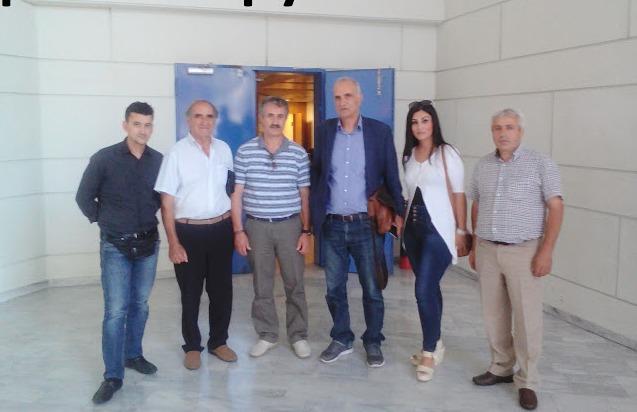Οι εκπρόσωποι των Παρακαμπυλίων συναντήθηκαν με Σπίρτζη
