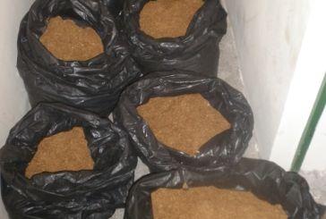 """""""Μπλόκο"""" από την ΟΠΚΕ σε 70 κιλά λαθραίου καπνού (φωτο)"""