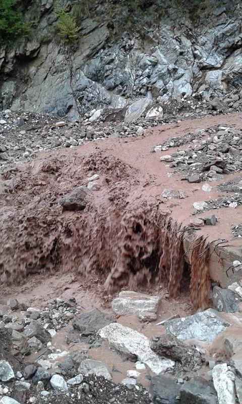 Καταστροφές από την κακοκαιρία στο Αργυρό Πηγάδι Θέρμου